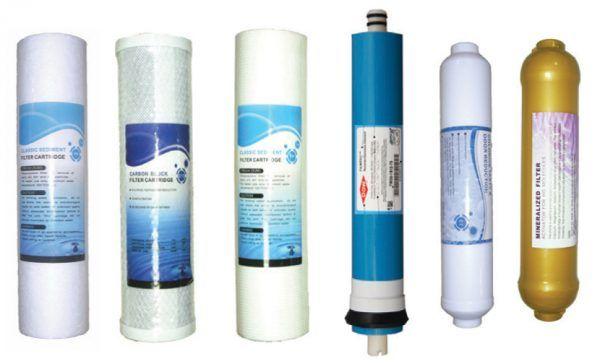 su arıtma cihazı filtre değişim süresi