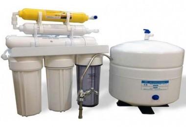 6 aşamalı pompasız su arıtma cihazı
