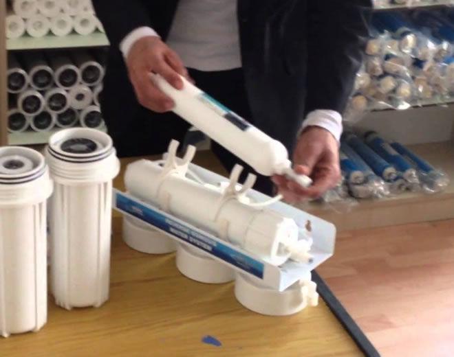 Su arıtma filtresi nasıl takılır?